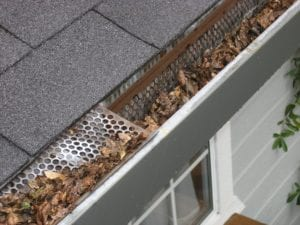 Gutter guards reduce maintenance and cleaning.